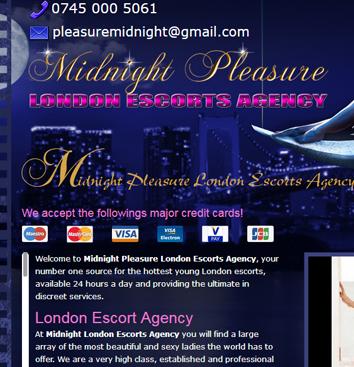 Midnight Pleasure Escorts