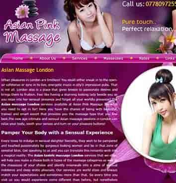 asian pink massage